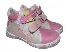 Dětské celoroční boty Essi S 1702 růžová