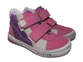Dětské celoroční boty Essi S 1764 růžová