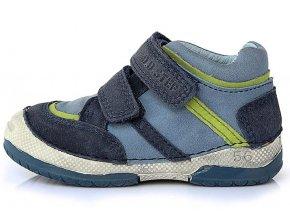 Dětské celoroční boty D.D.step 038-229 modré