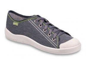 Chlapecké textilní tenisky Befado Tim 244Q027 šedá