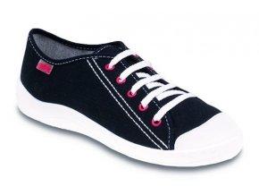 Chlapecké textilní tenisky Befado Tim 244Q019 černá