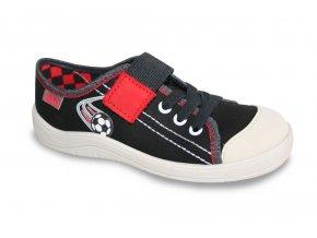 Chlapecké textilní tenisky Befado Tim 251Y052 černá