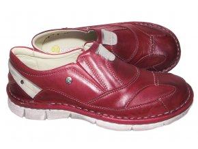 Dámská vycházková obuv Hilby Krisbut 2189 červená