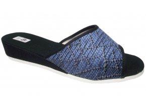 Dámské domácí pantofle Bokap 010 modré