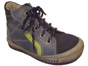 Dětské celoroční boty Essi S 2545 modrá