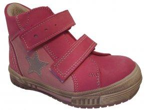 Dětské celoroční boty Essi S 2546 růžová