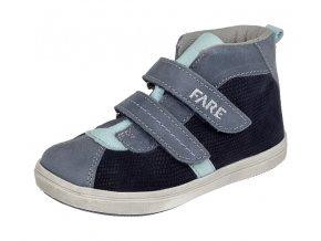 Dětské celoroční kotníkové boty Fare 819301 modré