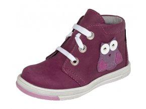 Dětské celoroční kotníkové boty Fare 823192 vínové