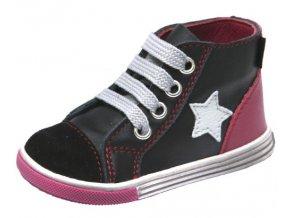 Dětské celoroční kotníkové boty Fare 2151111 černé