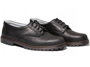 Pánská celoroční obuv Redno 096 610 černá