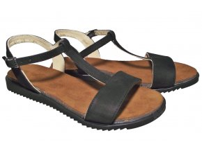 Dámské letní sandály Hujo J 3943 černé