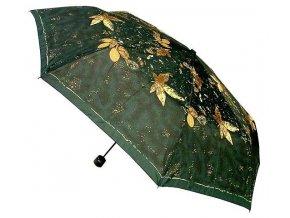 Dámský skládací deštník Viola 3123 zelená