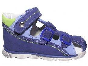 Dětské letní sandálky Essi S 1713 modré
