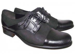 Pánská společenská obuv Barton 51917 černá