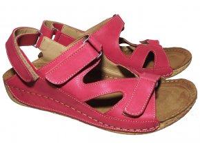 Dámské letní sandály Kira 567 červené