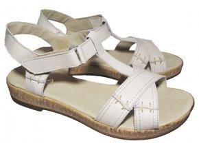Dámské letní sandály Kira 267/1829 béžové