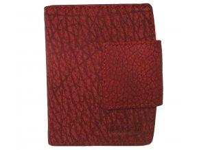 Dámská kožená peněženka Lagen LM-3994/W červená