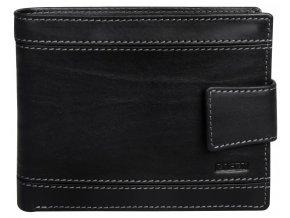 Pánská kožená peněženka Lagen 61161 černá