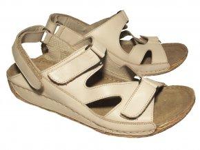 Dámské letní sandály Kira 567/1382 béžové