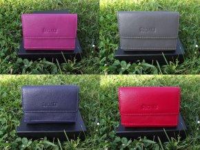 Malá kožená peněženka Segali 61420/M