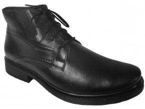 Pánské zimní kožené boty Barton 25813