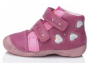 Dětské celoroční boty D.D.step 015-69b růžové