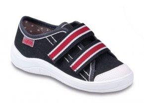 Chlapecké textilní tenisky Befado Tim 672x050 černá