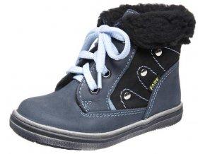 Dětské zimní kotníkové boty Fare 844105 šedá
