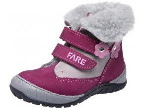 Dětské zimní kotníkové boty Fare 849192 fialová