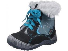 Dětské zimní kotníkové boty Fare 2145211 černá