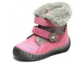 Dětské zimní kotníkové boty Fare 2146153 růžová