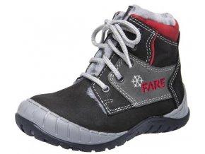 Dětské zimní kotníkové boty Fare 842212 černá