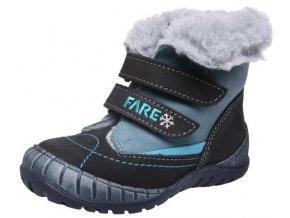 Dětské zimní kotníkové boty Fare 849212 černá