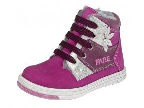 Dětské zimní kotníkové boty Fare 842251 růžová