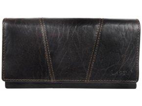 Dámská kožená peněženka Lagen PWL-388/T hnědá