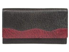 Dámská kožená peněženka Lagen 4013 černá