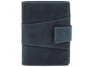 Pánská kožená peněženka Lagen V-99/H šedá
