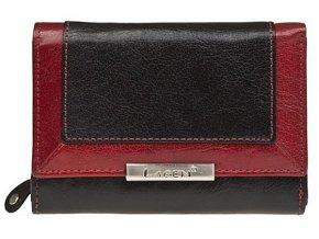 Dámská kožená peněženka Lagen LN 1846/614 černá