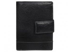 Pánská kožená peněženka Lagen V-27/T černá