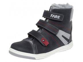Dětské zimní kotníkové boty Fare 841101 černé