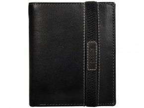 Pánská kožená peněženka Lagen 61180 černá