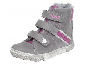 Dětské zimní kotníkové boty Fare 841151 šedé