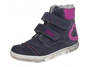 Dětské zimní kotníkové boty Fare 2645251 modré