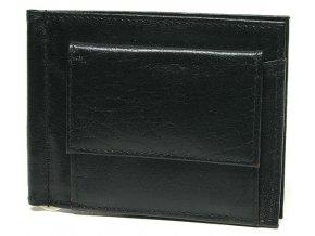 Pánská kožená dolarovka Lagen W 2010 černá