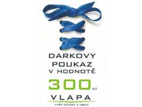 VLAPA Dárkový poukaz 300 Kč