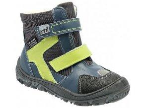 Dětské zimní kotníkové boty KTR 315 modrá