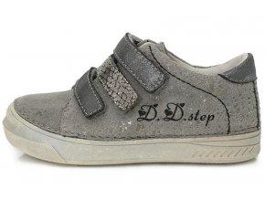 Dětské celoroční boty D.D.step 040-409 šedé