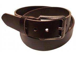Pánský hnědý kožený pásek WINAR C