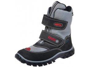 Dětské zimní kotníkové boty Fare 2646244 černá