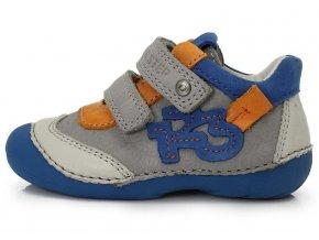 Dětské celoroční boty D.D.step 015-137 šedé
